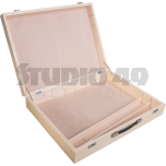 Wooden Case for Resonator Bars KB/SX or KB/AX